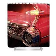 Cadillac Fin Tail Shower Curtain