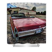 Cadillac Convertible Shower Curtain