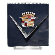 Cadillac Crest Shower Curtain