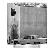 Cadillac Drive Palm Springs Shower Curtain