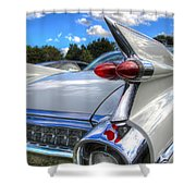 Cadillac Fin Shower Curtain