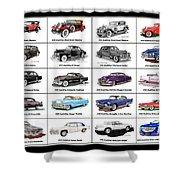Cadillac La Salle Automotive Poster Shower Curtain