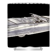 1963 64 Cadillac Roadster Concept Shower Curtain