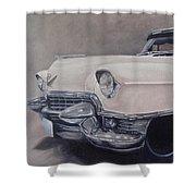 Cadillac Study Shower Curtain