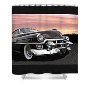 Cadillac Sunset Shower Curtain