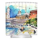 Cadiz Spain 11 Shower Curtain