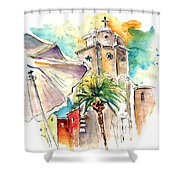 Cadiz Spain 12 Shower Curtain