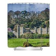 Caerhays Castle Shower Curtain