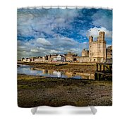 Caernarfon Castle Shower Curtain