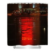 Caesars Reflection Shower Curtain