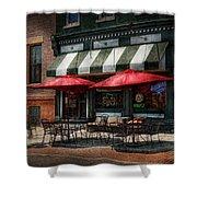 Cafe - Albany Ny - Mc Geary's Pub Shower Curtain