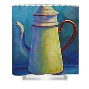 Cafe Au Lait Shower Curtain