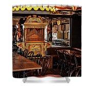 Cafe Chez Eugene - Montmartre Shower Curtain