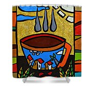 Cafe Criollo  Shower Curtain