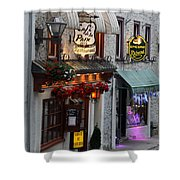 Cafe De La Paix Shower Curtain
