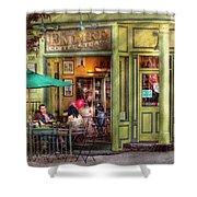 Cafe - Hoboken Nj - Empire Coffee And Tea Shower Curtain