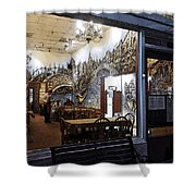Cafe Italiano Night Usa Shower Curtain