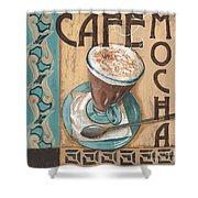 Cafe Nouveau 1 Shower Curtain by Debbie DeWitt