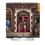 Cafe - The Italian Bakery Shower Curtain