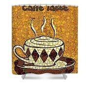 Caffe Latte Shower Curtain