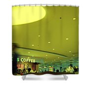 Caffe On The Fly Shower Curtain