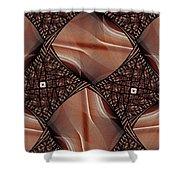 Caffeinated Shower Curtain