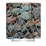 Caged By Barbara Griffin Shower Curtain