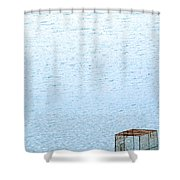 Caged Expanse Shower Curtain