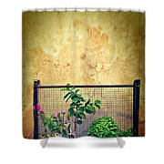 Caged Shower Curtain by Silvia Ganora