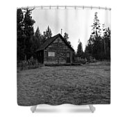 Cagin In The Woods Shower Curtain