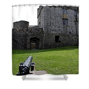 Cahir Castle Yard Shower Curtain