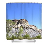 Caineville Mesa Caineville Utah Shower Curtain