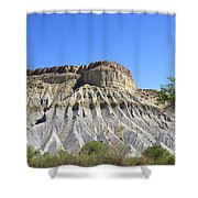 Caineville Mesa Utah Shower Curtain