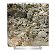 Cairn Patch Shower Curtain