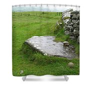 Cairn T At Loughcrew Shower Curtain