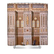 Cairo Interior Of The Mosque Shower Curtain