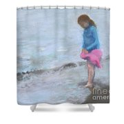 Cait At Dugan's Cove Shower Curtain