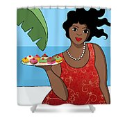 Cakes Shower Curtain