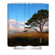 Caledonian Colours Shower Curtain