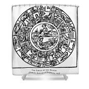 Calendar, 1503 Shower Curtain