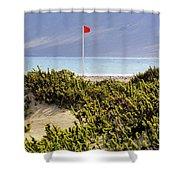 Caleta De Famara Beach Lanzarote Shower Curtain