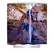 Calf Creek Falls  Shower Curtain