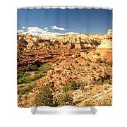 Calf Creek View Shower Curtain