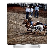 Calgary Stampede Shower Curtain