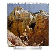 Calhan Paint Mines 1 Shower Curtain