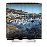 Calhan Paint Mines Landscape Shower Curtain