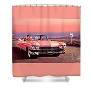 California Dreamin' Shower Curtain by Michael Swanson