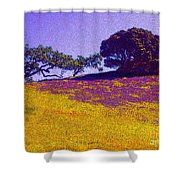 California Hills Shower Curtain