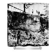 California: Mining, 1850s Shower Curtain