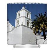 California Mission 2 Shower Curtain